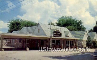 Harrison Motor Court - Arkansas AR Postcard