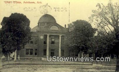 Court House - Ashdown, Arkansas AR Postcard