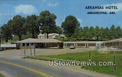 Arkansas Motel - Arkadelphia Postcard