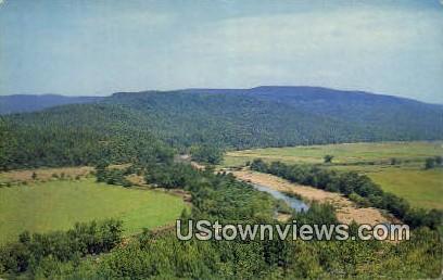 Silver Bridge Park - Winfrey Valley, Arkansas AR Postcard