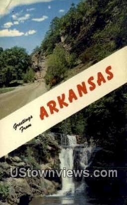 Ozarks, Arkansas,     ;     Ozarks, AR Postcard