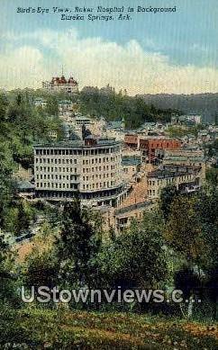 Baker Hospital - Eureka Springs, Arkansas AR Postcard