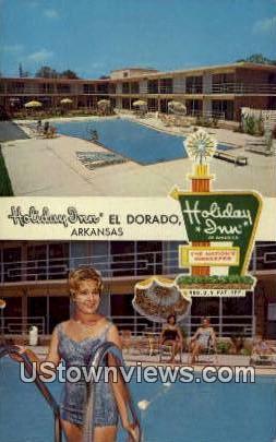 Holiday Inn - El Dorado, Arkansas AR Postcard