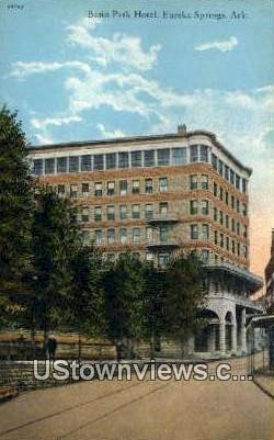 Basin Park Hotel - Eureka Springs, Arkansas AR Postcard