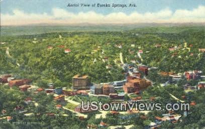 Eureka Springs, Ark,    ;    Eureka Springs, Arkansas Postcard