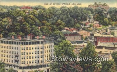 Eureka Springs, AR,    ;    Eureka Springs, Arkansas Postcard