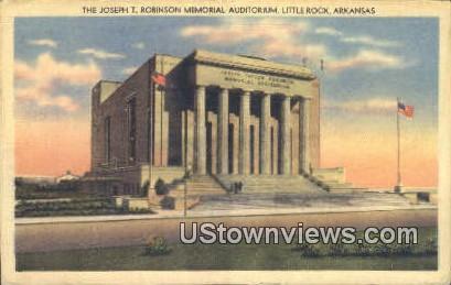 Joseph T Robinson Memorial Aud. - Little Rock, Arkansas AR Postcard