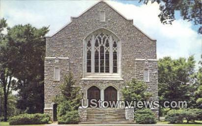 Real Photo - College of the Ozarks - Clarksville, Arkansas AR Postcard