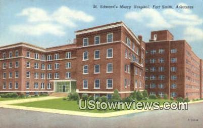 St Edward's Mercy Hospital - Fort Smith, Arkansas AR Postcard