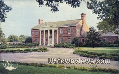 First Offical Governor's Mansion, Jan 1950 - Little Rock, Arkansas AR Postcard