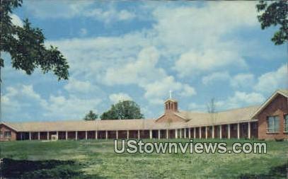 Paul E & Mildred Martin Bldg - Fayetteville, Arkansas AR Postcard