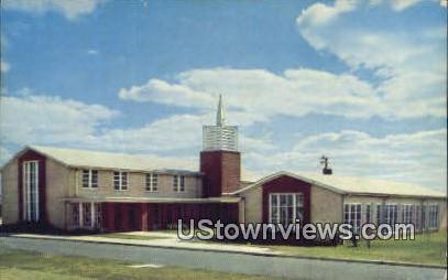 Chapel, Little Rock Air Force Base - Jacksonville, Arkansas AR Postcard