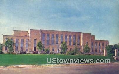 Admin Bldg, Arkansas State College - Jonesboro Postcard