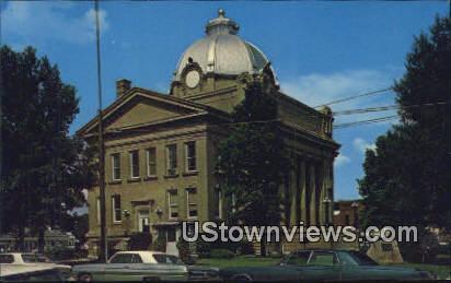 Mississippi County Courthouse - Osceola, Arkansas AR Postcard