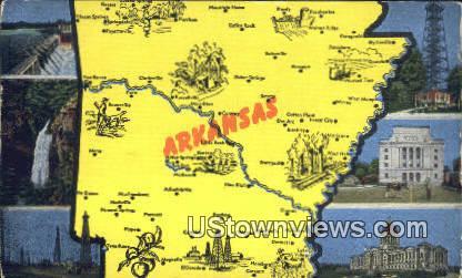 Remmel Hydro Electric Station - Lake Catherine, Arkansas AR Postcard