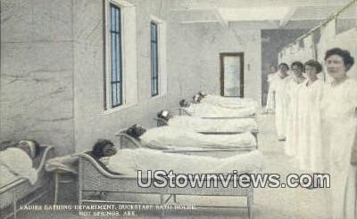Ladies Bathing Dept, Buckstaff Bath House - Hot Springs, Arkansas AR Postcard