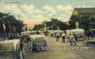 Cotton Ginning Day - Misc, Arkansas AR Postcard