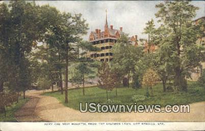 Army & Navy Hospital, Eastman Lawn - Hot Springs, Arkansas AR Postcard