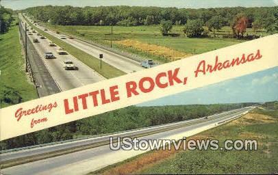 Little Rock, Ark,    ;    Little Rock, Arkansas Postcard