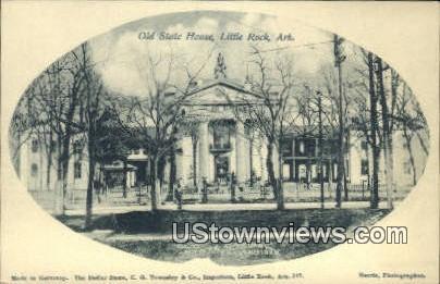 Old State Hosue - Little Rock, Arkansas AR Postcard