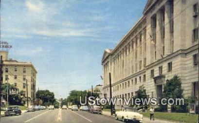 Capitol Ave, US Post Office - Little Rock, Arkansas AR Postcard