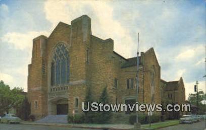 First Baptist Church - Little Rock, Arkansas AR Postcard