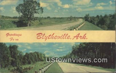 Blytheville, Arkansas,    ;    Blytheville, AR, Postcard