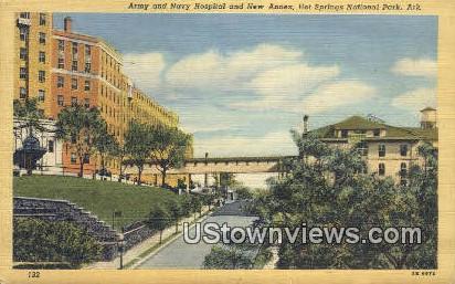 Army & Navy Hospital, New Annex - Hot Springs National Park, Arkansas AR Postcard