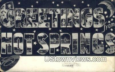 Hot Springs, AR,    ;    Hot Springs, Arkansas Postcard