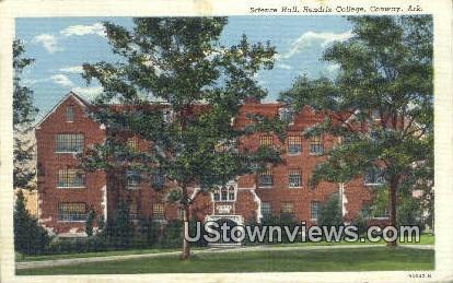 Science Hall, Hendrix College - Conway, Arkansas AR Postcard