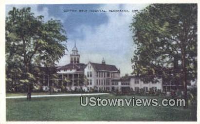 Cotton Belt Hospital - Texarkana, Arkansas AR Postcard