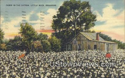 Cabin in the Cotton - Little Rock, Arkansas AR Postcard