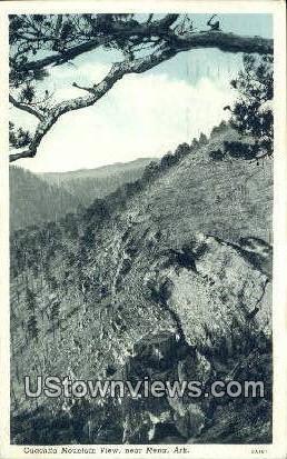 Ouachita Mountain - Mena, Arkansas AR Postcard
