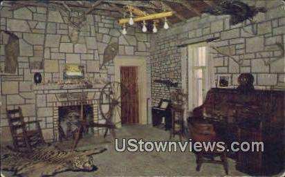 Castle Trophy Room, Inspiration Point - Eureka Springs, Arkansas AR Postcard