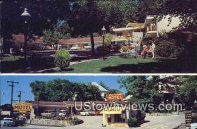 Taylor Rosamond Motel - Hot Springs, Arkansas AR Postcard
