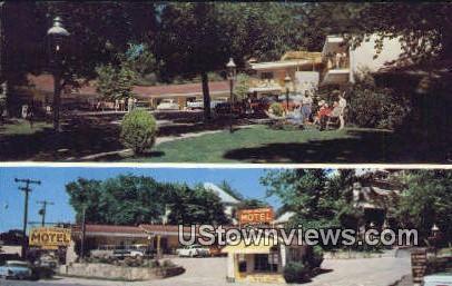 Taylor Rosamond Motel - Hot Springs National Park, Arkansas AR Postcard