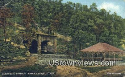Magnetic Springs - Eureka Springs, Arkansas AR Postcard