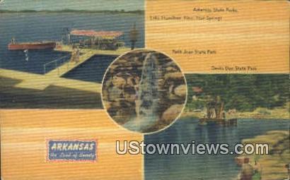 Arkansas State Park, Petit Jean State Park - Hot Springs Postcard
