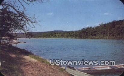 Lake Leatherwood - Eureka Springs, Arkansas AR Postcard