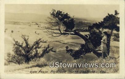 Real Photo - Mount Vista - Van Buren, Arkansas AR Postcard