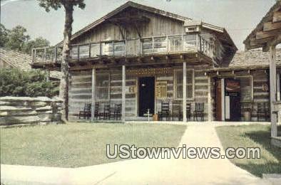 Stagecoach Inn - Springdale, Arkansas AR Postcard