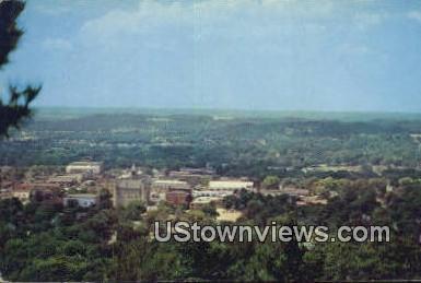 Mount Sequoyah - Fayetteville, Arkansas AR Postcard