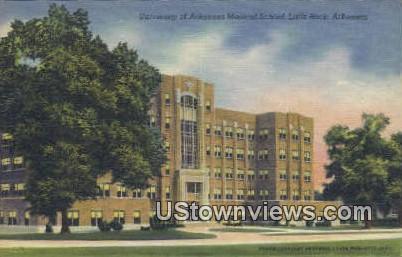 University of Arkansas Medical School - Little Rock Postcard
