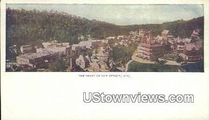 Hot Springs, Arkansas,    ;    Hot Springs, AR, Postcard