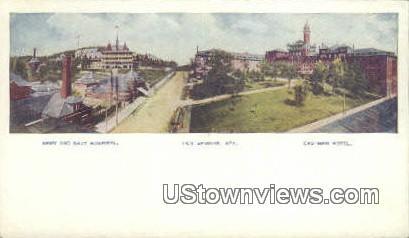 Army & Navy Hospital - Hot Springs, Arkansas AR Postcard