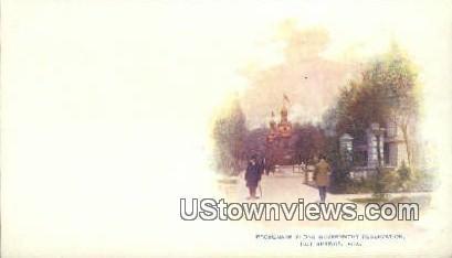 Promenade, Government Reservation - Hot Springs, Arkansas AR Postcard