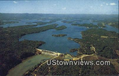 Lake Hamilton - Hot Springs National Park, Arkansas AR Postcard