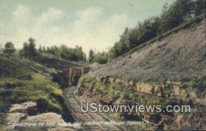 Winslow Tunnel - Rogers, Arkansas AR Postcard