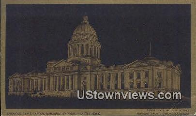 Arkansas State Capitol - Little Rock Postcard
