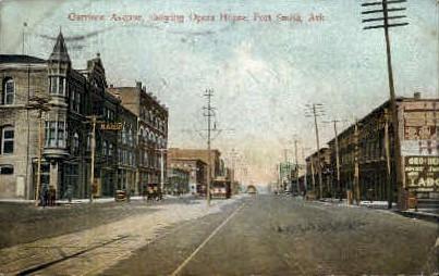 Garrison Ave. Opera House - Fort Smith, Arkansas AR Postcard